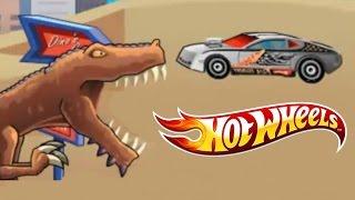 Juego De Autos 37: Hot Wheels Hero Vs Pizza T-Rex Rampage 2009