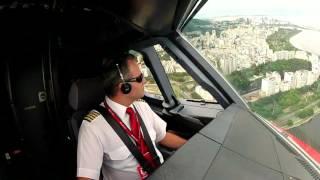 Захватывающие виды из кабины пилотов Аэробуса А 320 HD
