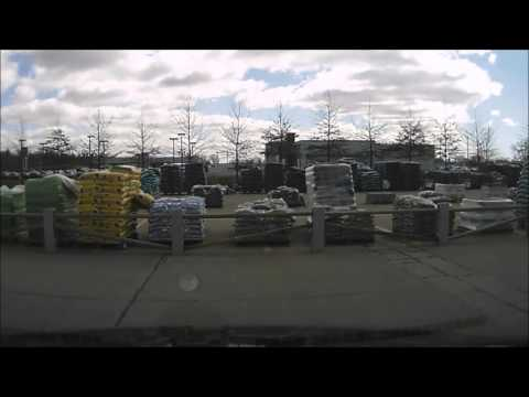 Woman Runs Down A Cart And Causes Damage At Walmart Moline Dashcam