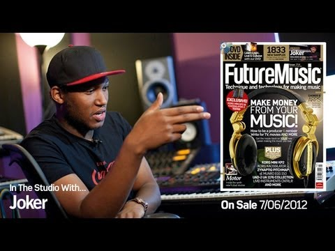 Joker In The Studio With Future Music Magazine issue 254