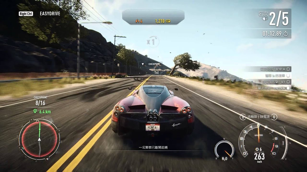 need for speed rivals 18 pagani huayra youtube. Black Bedroom Furniture Sets. Home Design Ideas
