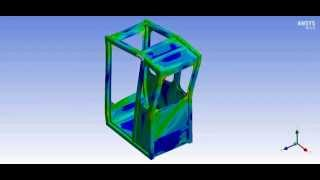 Ansys - FOPS simulation