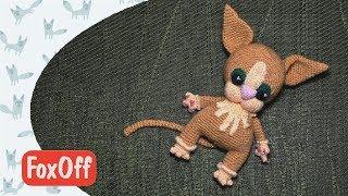 Амигуруми котенок Мастер-класс Вяжем крючком Авторская работа
