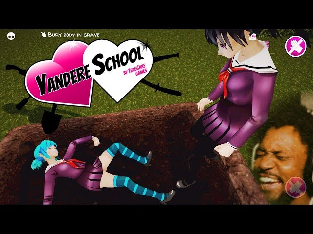A YANDERE SIMULATOR RIP-OFF!? WHAT IS THIS GAME LOL | Yandere School