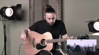 """""""Ever Be"""" Song Tutorial // Acoustic Guitar"""