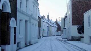 Snow in Kent 09-10.