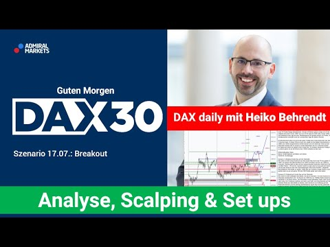 DAX aktuell: Analyse, Trading-Ideen & Scalping | DAX30 | CFD Trading | DAX Analyse | 17.07.2020