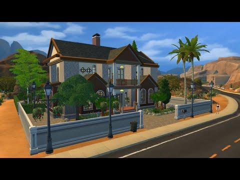 Bangun Rumah di Game The Sims 4