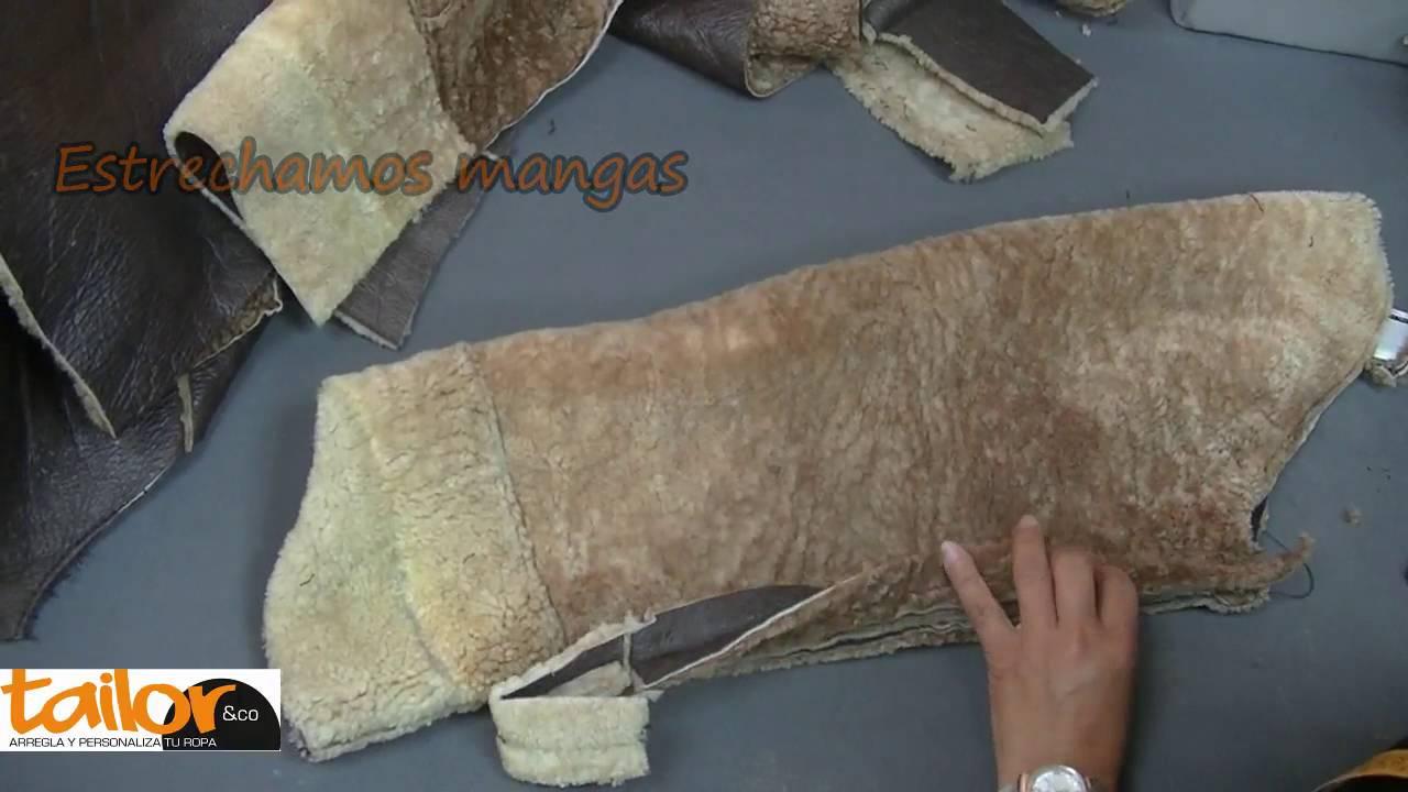 De Una Youtube Piel Reducción Talla Chaqueta AfwWZSqq