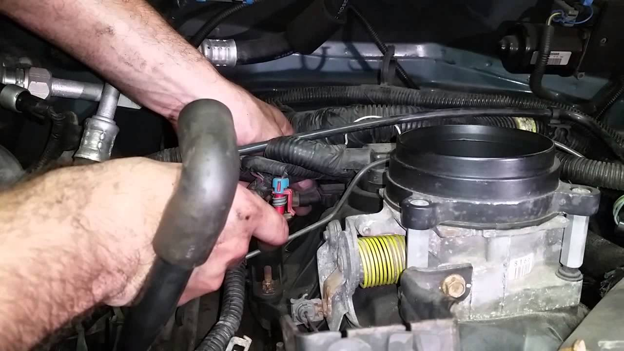 how to replace an intake manifold gasket vortec v8 pt 1 of 2