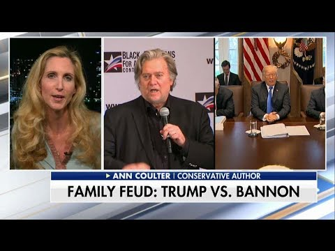 Ann Coulter on Steve Bannon's War of Words with Trump