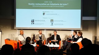 Quelle restauration en hôtellerie de luxe ? - Chefs World Summit 2018