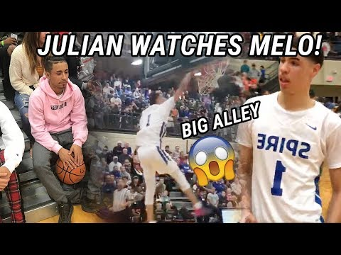 Julian Newman Watches LaMelo Ball GO OFF! Will They EVER Play Each Other!? 😱
