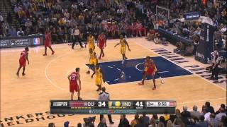 Dwight Howard vs Indiana Pacers 2013.12.20
