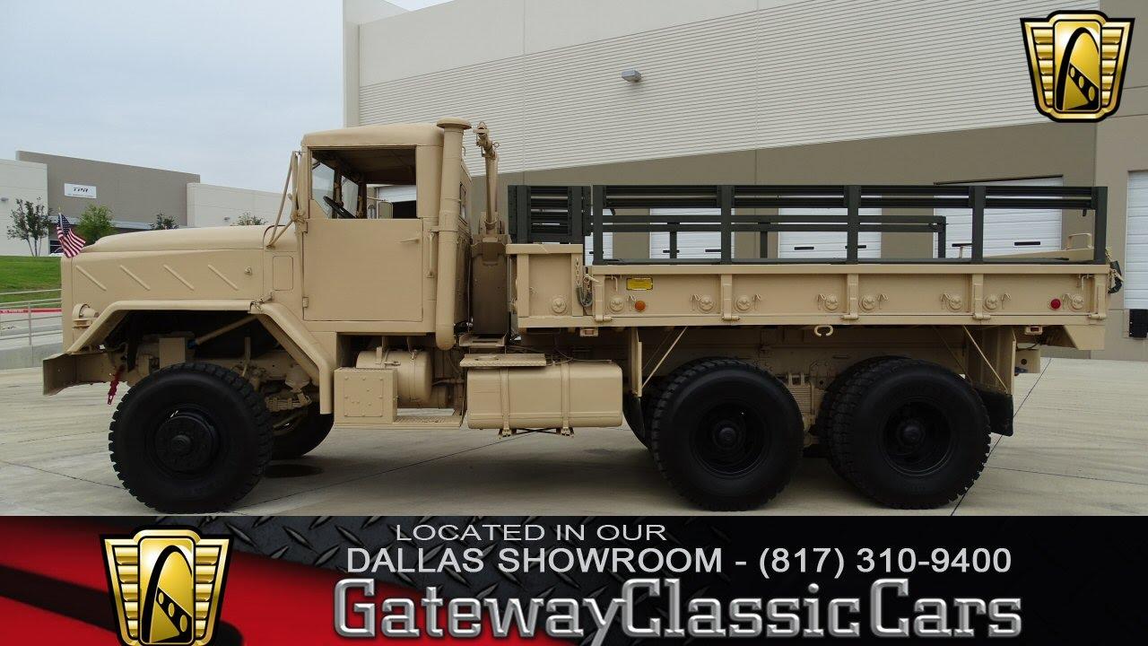 1984 am general m923 5 ton truck stock 245 gateway classic cars of dallas youtube
