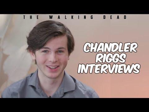 The Walking Dead Chandler Riggs Interview - Carl Grimes