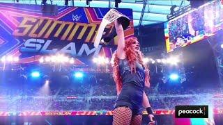 El regreso de Becky Lynch para ganar el Campeonato de SmackDown WWE Smackdown 27 08 2021 Español