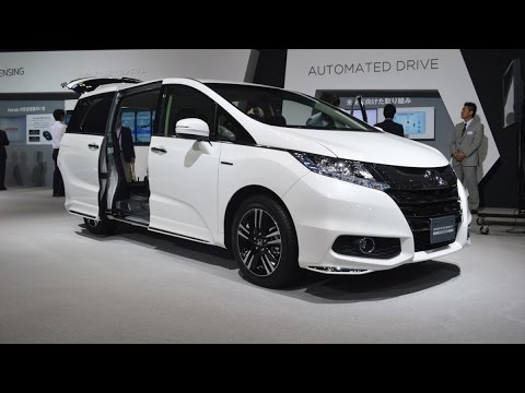 2018 honda odyssey hybrid premium minivan first look youtube. Black Bedroom Furniture Sets. Home Design Ideas