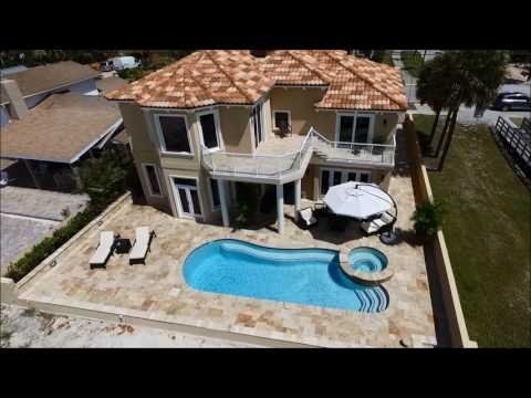 Waterfront Home for Sale on Clearwater Beach / 832 Eldorado Ave.