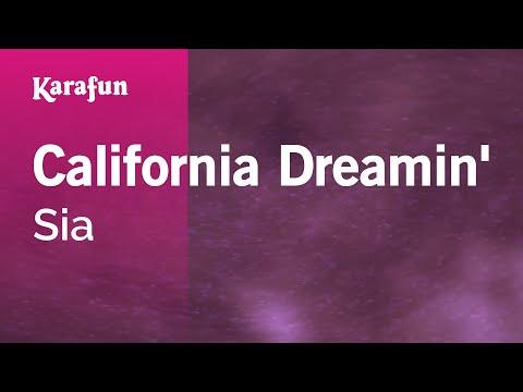 Karaoke California Dreamin  Sia *