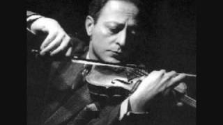 Jascha Heifetz, Beethoven Violin Concerto In D, Op 61, 1st mtv (Part 1)