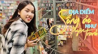 Vlog : Hiệu sách này có gì mà giới trẻ ùn ùn kéo tới ???