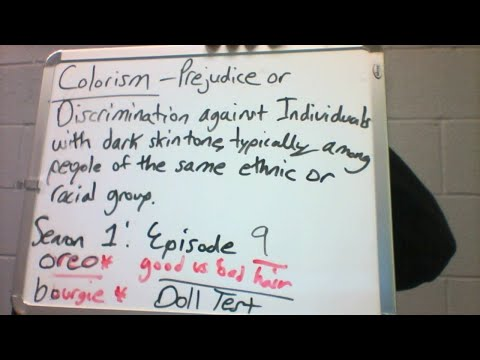 Episode 9: Colorism: Let's talk about it
