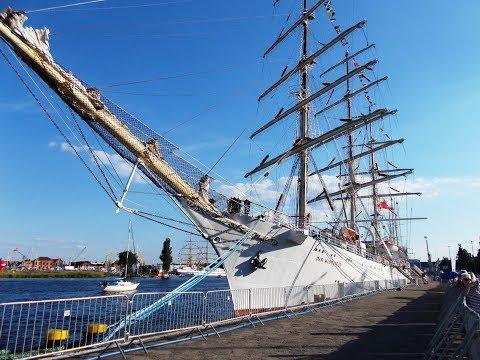 STS Dar Młodzieży - Tall Ships Races 2017
