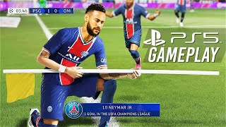 FIFA 21- NEXT GEN | PS5™ GAMEPLAY- PSG VS REAL MADRID