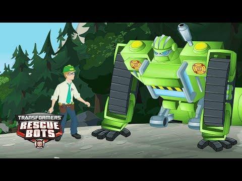 Transformers: Rescue Bots Season 2 - 'Boulder's Big Save' Official Clip