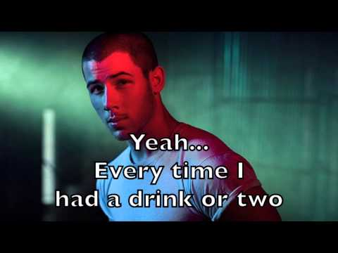 Nick Jonas - Area Code Karaoke Acoustic Guitar Instrumental Backing Track + Lyrics