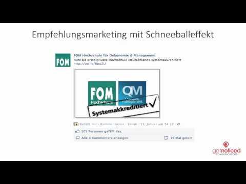 Chancen und Risiken von Social Media - Facebook-Marketing