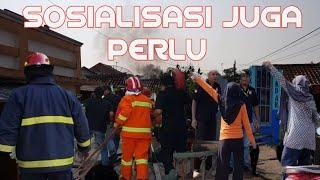 Balakar To Respone Time  Simulasi Pemadaman Kebakaran Perum Tegal Asri Cilacap