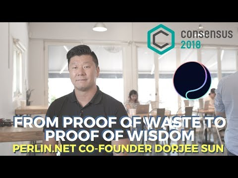 Consensus Singapore Interview - Perlin.Net Co-Founder Dorjee Sun