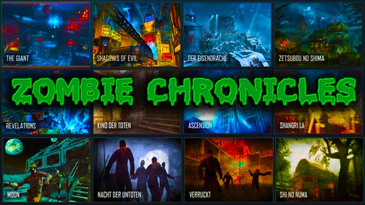 Chronicles Confirmed All Remaster MAPS REVEALED YouTube - All of us remastered bo3 zombies maps