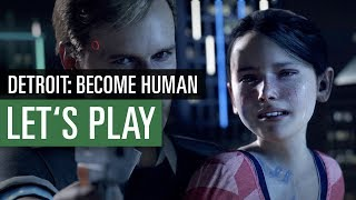 Detroit: Become Human - Demo im Let's Play vorgestellt