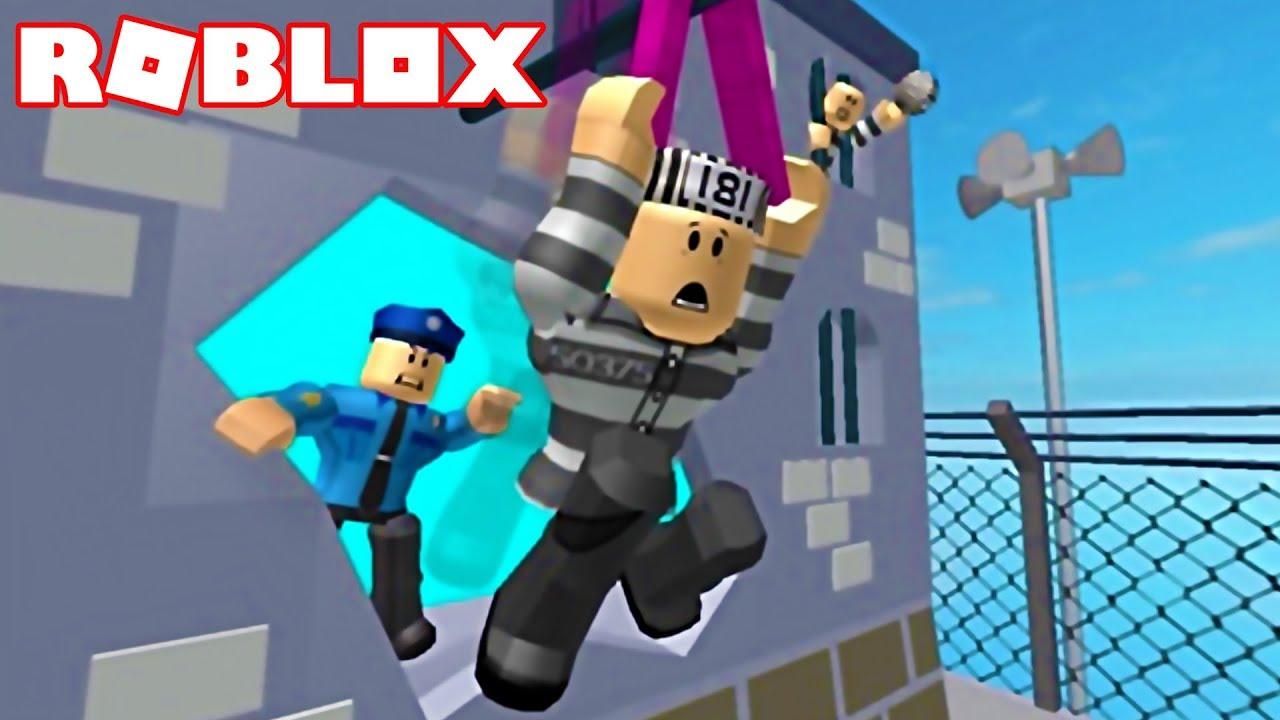 Roblox Escape Prison Breakout Obby Youtube