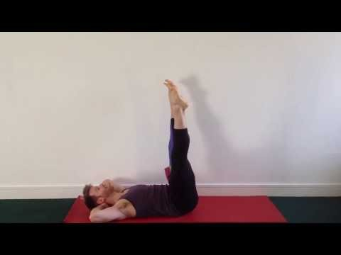 Forrest Yoga Asana - Abdominals With A Roll