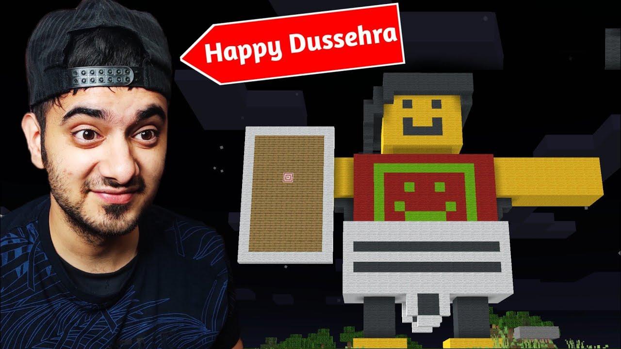 Download Dussehra Celebration in Himlands Minecraft World