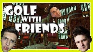 STRAŠIDELNÝ ZÁMEK! - Golf With Friends /w MenT, House, Baxtrix