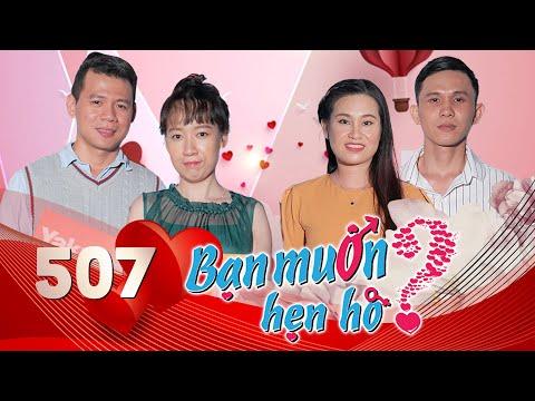 Bạn Muốn Hẹn Hò|Tập 507 FULL| Chàng Việt Kiều Hào Hoa đối đáp SONG NGỮ Chinh Phục Tiểu Thư Cần Thơ😍
