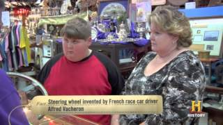 Richard brings in a BMW steering wheel - Cajun Pawn Stars