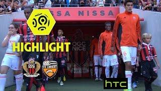 OGC Nice - FC Lorient (2-1) - Highlights - (OGCN - FCL) / 2016-17(OGC Nice vs FC Lorient (2 - 1) highlights. The best actions and goals of OGC Nice vs FC Lorient in video. Ligue 1 - Season 2016/2017 - Week 8 Allianz Riviera ..., 2016-10-02T22:03:57.000Z)