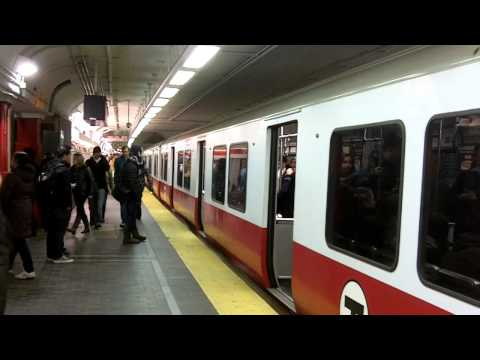 City Trains in Boston, Massachusetts