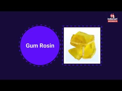 Gum Rosin And Camphor Powder By Svd Resins & Plastics Pvt. Ltd., Mumbai