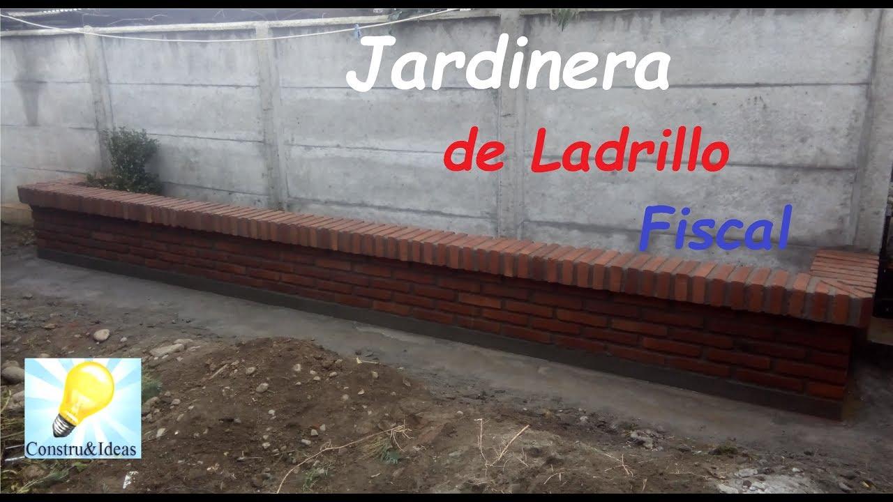 Construcci n de una jardinera youtube Construir una pileta de ladrillos