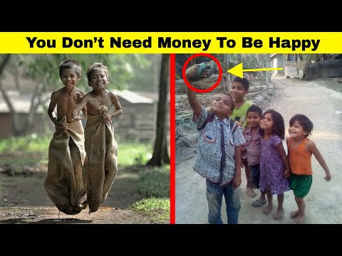 Touching Photos That Prove You Don't Need Money To Be Happy