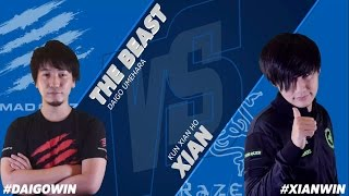 USFIV: RZR   Xian vs MCZ   Daigo Umehara - Capcom Cup 2015 Losers Finals - CPT 2015.mp3