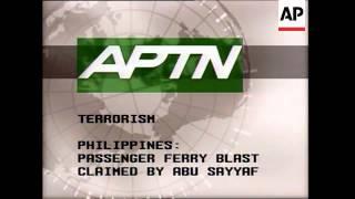 Russia: Terrorism, Egypt Hotel, Paris Bomb, Japan: Aum Shinrikyo