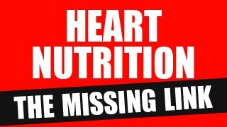 Heart Nutrition - the Missing Link